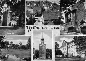 Wuenstorf Hannover Stiftskirche, Stadtkirche, Schule Altes Rathaus Teilansicht