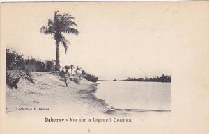 DAHOMEY . 1900-10s , Vue sur la Lagune a Cotonou