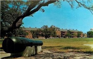 Old Point Comfort VA~4 Mile c1860 Lincoln Gun~Parade Route Fort Monroe~1950s