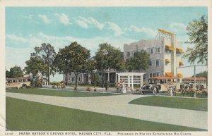 HAINES CITY , Florida , 1910s ; Frank Bryson's Groves Hotel