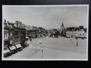 Netherlands: Maastricht - Boschstraat met de St. Mathiaskerk - Old RP Postcard