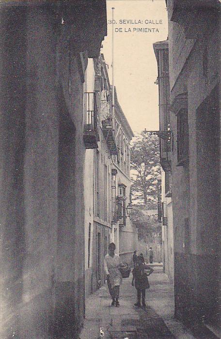 SEVILLA, Calle de la Pimenta, Andalucia, Spain, 00-10s