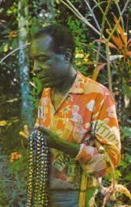 Jamaica St Mary Blind Beads Vendor Castleton Gardens