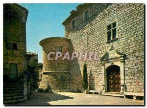Modern Postcard Gourdon Alpes Maritimes Le Vieux Chateau