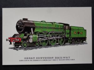 Great Southern Railway - Queen Class No.800 Steam Loco by Prescott c1970's