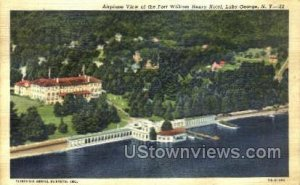 Ft William Henry Hotel in Lake George, New York