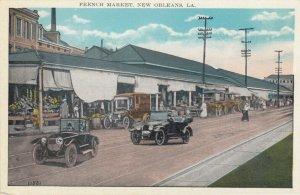 NEW ORLEANS, Louisiana, 1900-1910s;  French Market
