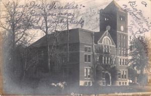 Clarion Iowa~Wright County Court House~c1910 Real Photo Postcard