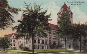 Michigan Detroit Central High School 1913