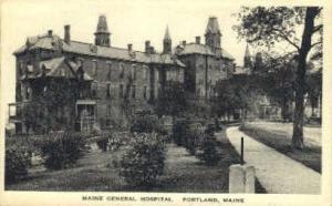 Maine General Hospital Portland ME Unused