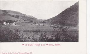 Near WINONA, Minnesota, 1900-1910's; West Burns Valley