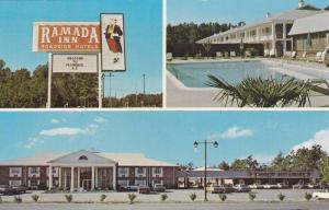South Carolina Florence The Mcleod Infirmary 1942 / HipPostcard