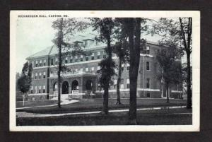 ME Maine Maritime Academy CASTINE Postcard Men's Dorm