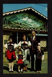 OH Family Swiss Festival SUGARCREEK OHIO Postcard PC