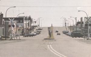 Street into City , CHAPAIS , Quebec , Canada , 1980s