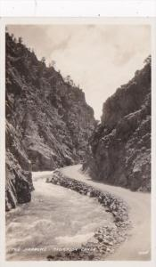 Colorado The Narrows In Thompson Canon Real Photo