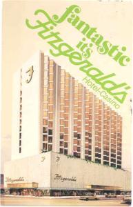 Fitzgerald's Hotel-Casino, 255 N Virginia St, Reno, Nevada, NV, 1981 Chrome