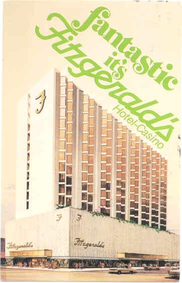 Fitzgerald's Hotel-Casino, 255 N Virginia St, Reno, Nevada, NV, 1981 Chrome