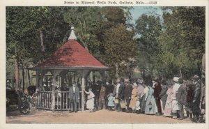 GUTHRIE , Oklahoma , 1910-20s; Mineral Wells Park
