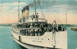 Steamship, C.P.R. S.S. Princess Victoria, Coast Publishing No. R-56864