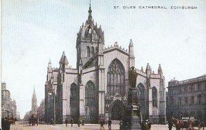 Scotland Postcard - St Giles Cathedral - Edinburgh  ZZ989