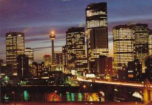 Canada With A Glowing Flame On Top Calgary Alberta 1989