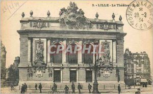 Postcard The Old Lille Theater