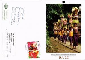 CPM  Indonesie - Bali - Elaborate Offering are Brought to the Temple  (694293)
