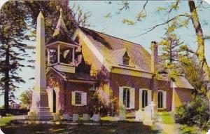 Delaware Dover Christ Episcopal Church Was Built In 1734 1957