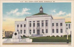 Hall County Court House Gainesville Georgia