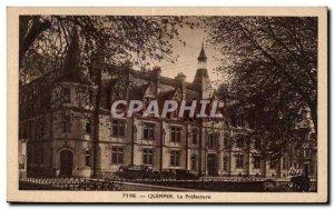 Old Postcard Quimper La Prefecture