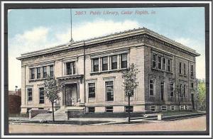 Iowa Cedar Rapids Public Library - [IA-041]