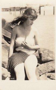 RP: Sennett Bathing Beauties , Pin-up Girl , 1910-20s ; #21