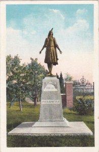 Virginia Jamestown Island Monument of Pocahontas
