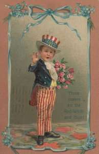 Uncle Samchild , Three Cheers for Red , White & Blue , 1909