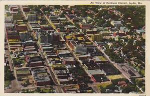 Air view of Business District, Joplin, Missouri, 30-40s