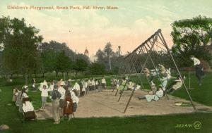 MA - Fall River. South Park Children's Playground
