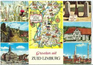 Netherlands, Groeten uit Zuid Limburg, 1968 used Postcard
