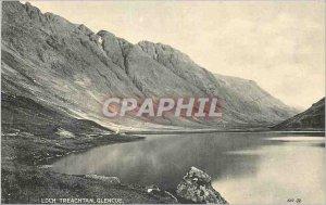 Old Postcard Loch Treachtan Grencoe