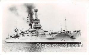 Real Photo Postcard Post Card USS Arkansas
