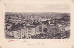 PRAHA , Czech Republic , PU-1906 : Pohled z Kynskeho zahrady