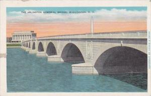 The Arlington Memorial Bridge Washington D C