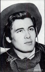 Cowboy Actor - Arcade Exhibit Card - Chris Jones