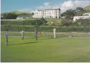 Post Card WALES Gwynedd  Aberdovey Trefeddian Hotel
