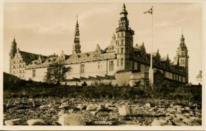 Denmark - Kronborg. The Castle    *RPPC