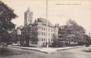 CHESTER, Pennsylvania, 1900-1910's; Chester High School