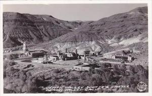 California Death Valley  Death Valley Scottys Castle Real Photo
