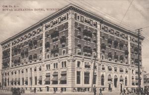 WINNIPEG , Manitoba, 1907 ; Royal Alexandra Hotel