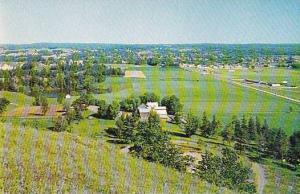 View of Renfrew From Pinnacle North of Town, Renfrew, Ontario, Canada, 40-60´s