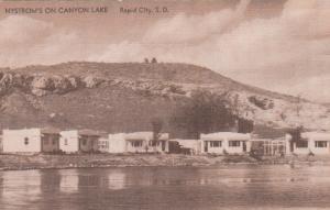 RAPID CITY, South Dakota, 1930-40s; Nystrom's on Canyon Lake